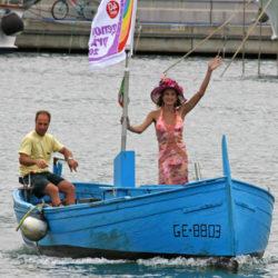 Wladimir Luxuria inaugura Genova Pride 2009