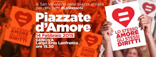Piazzate d'amore - 14 febbraio 2015