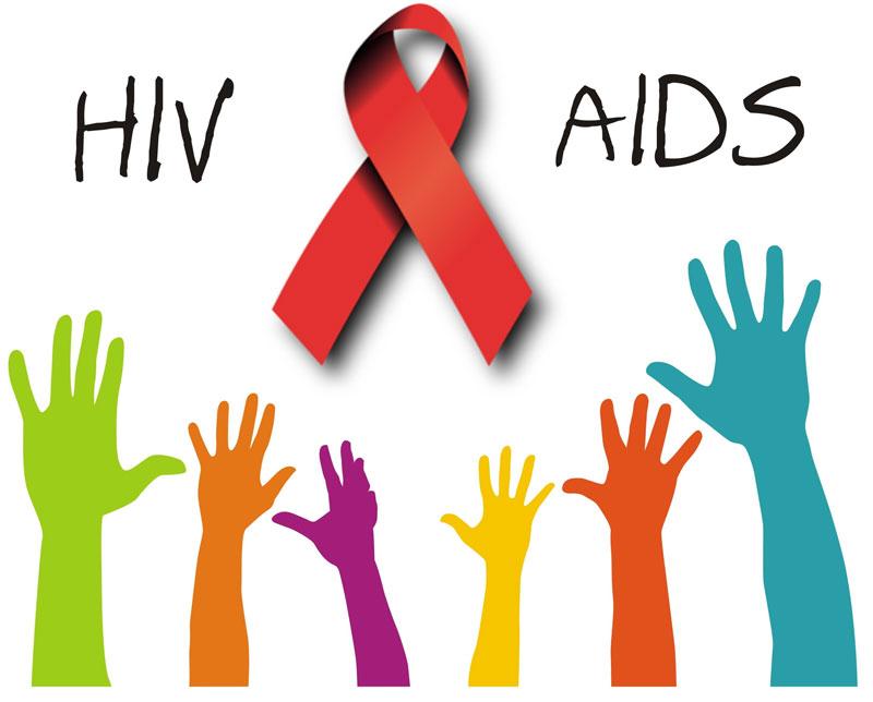 hiv aids nastro rosso