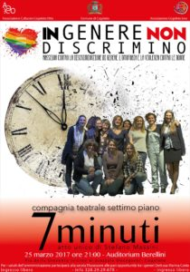 """""""7 minuti"""" di Stefano Massini @ Auditorium Berellini"""