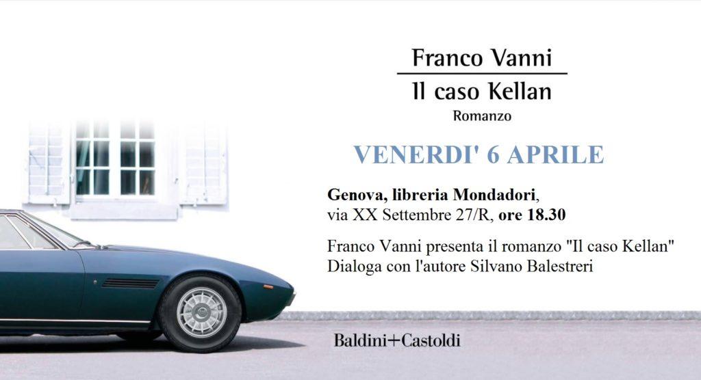 Franco Vanni - Il caso Kellan