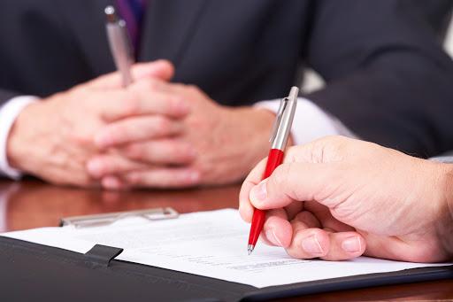 Firma del contratto